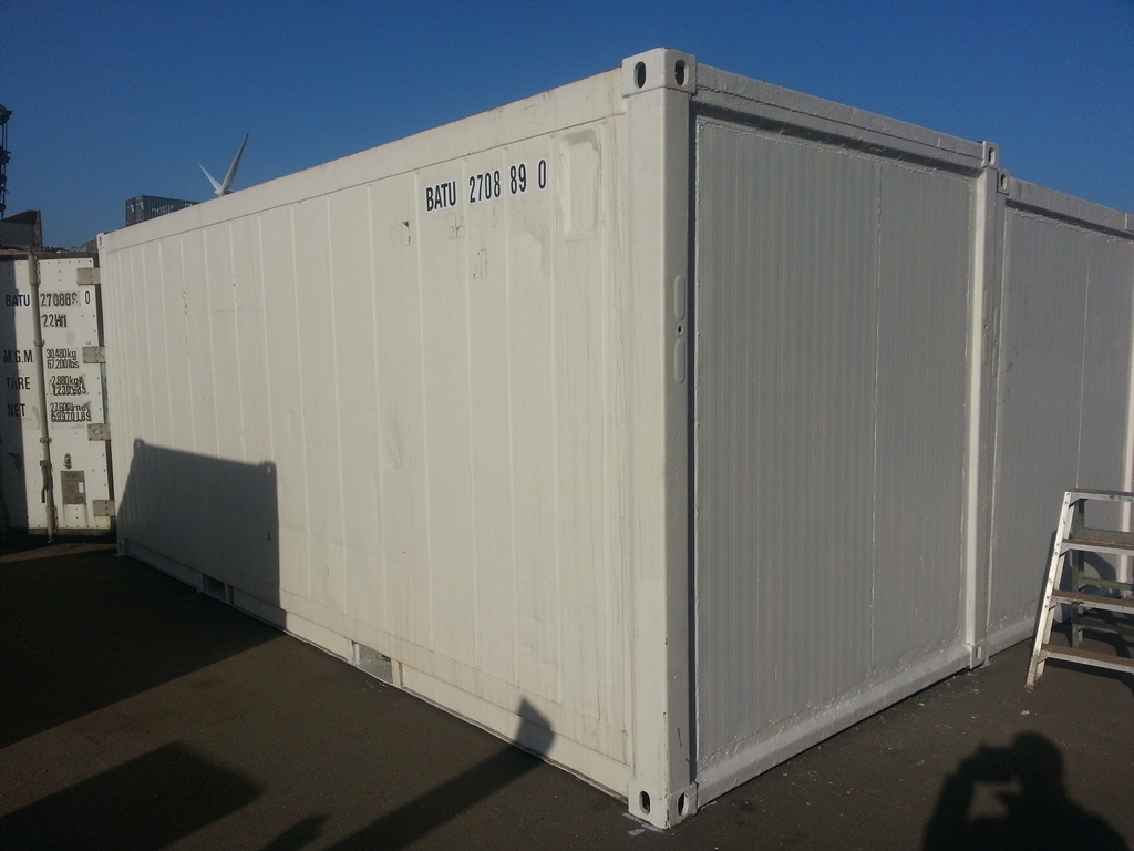 Chambre isolation des containers box container for Isolation container maritime